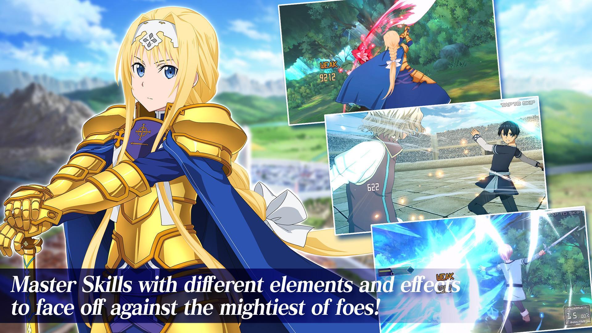 Sword Art Online Alicization Rising Steel 1.15.0 Screenshot 9