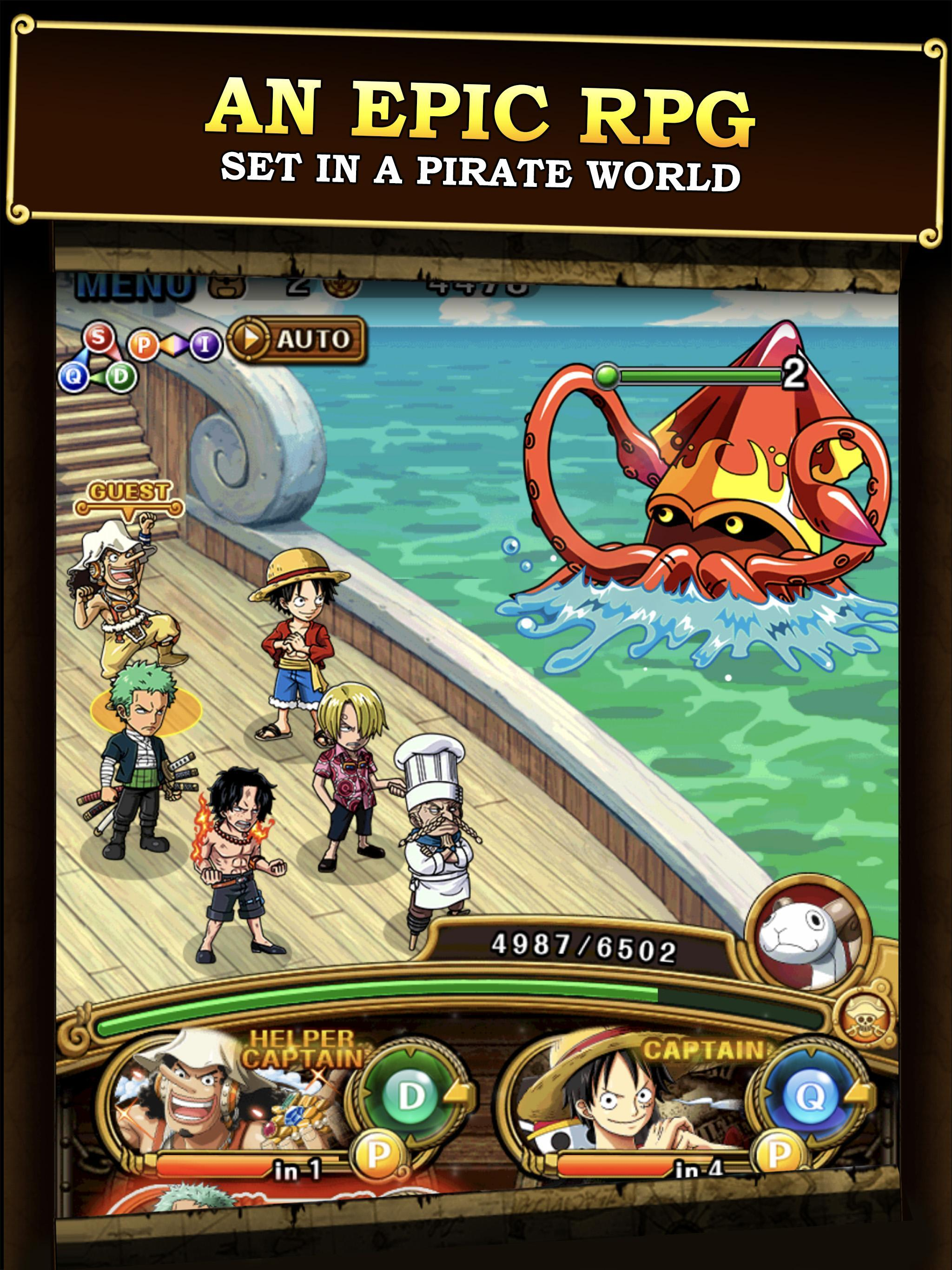 ONE PIECE TREASURE CRUISE 9.3.0 Screenshot 3