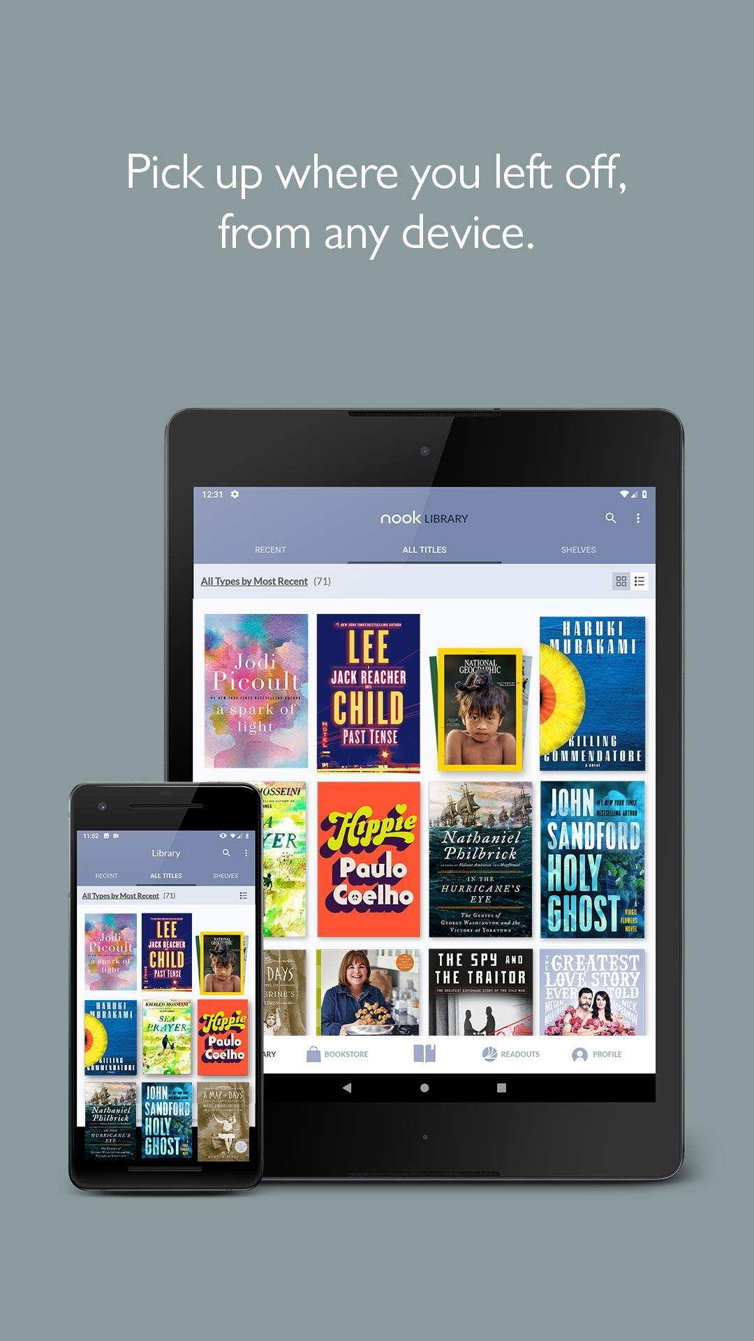 NOOK Read eBooks & Magazines 5.1.0.27 Screenshot 2