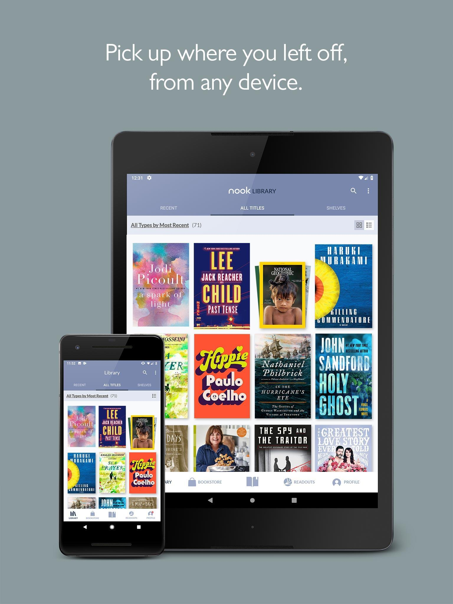NOOK Read eBooks & Magazines 5.1.0.27 Screenshot 8