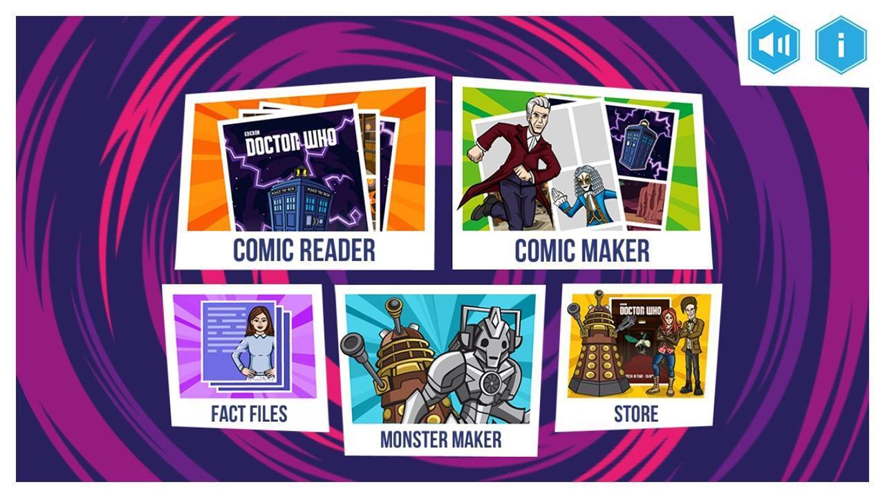 Doctor Who: Comic Creator 1.7 Screenshot 1