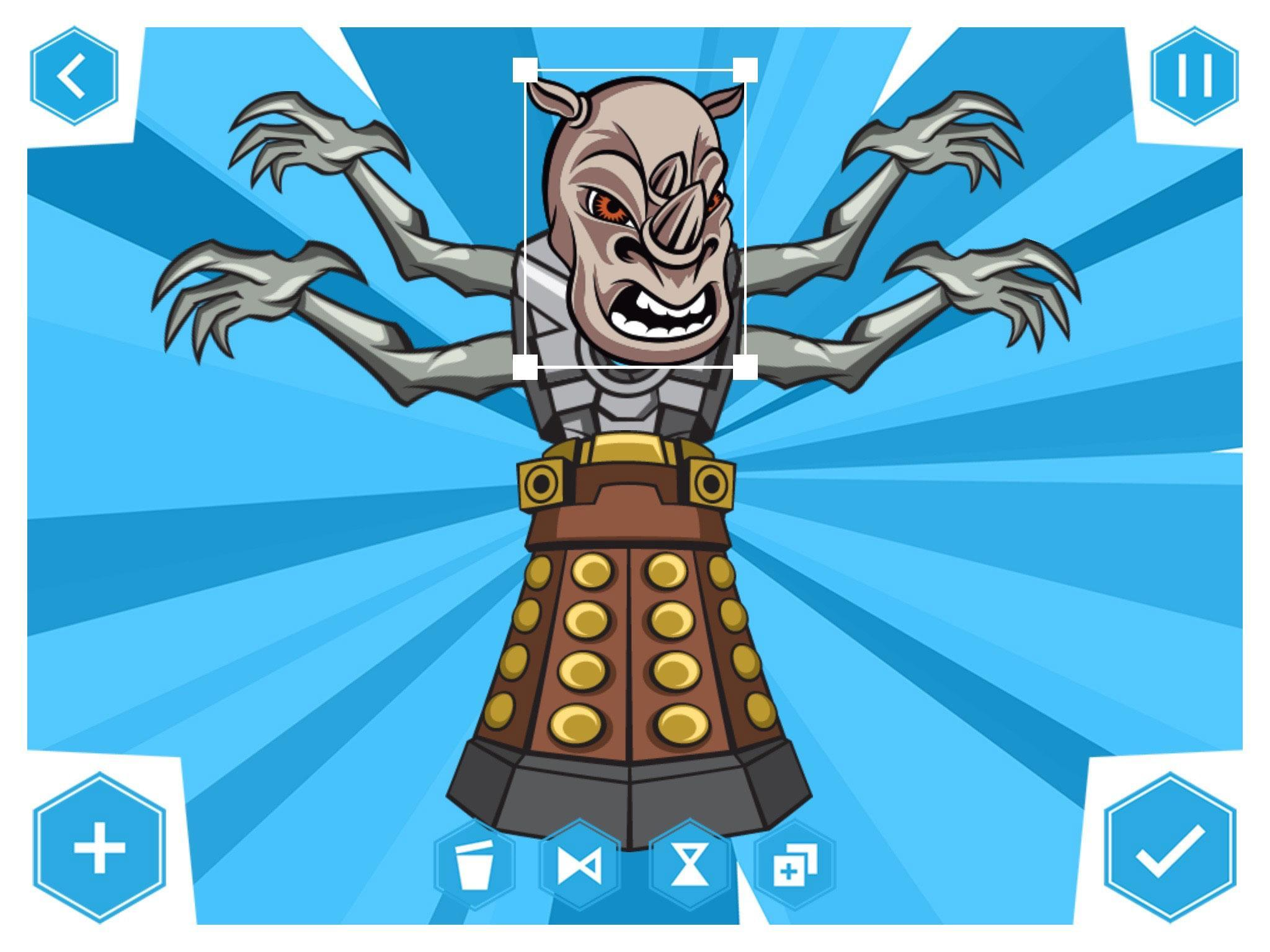 Doctor Who: Comic Creator 1.7 Screenshot 11