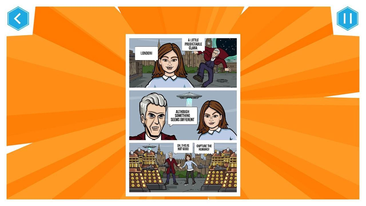 Doctor Who: Comic Creator 1.7 Screenshot 15