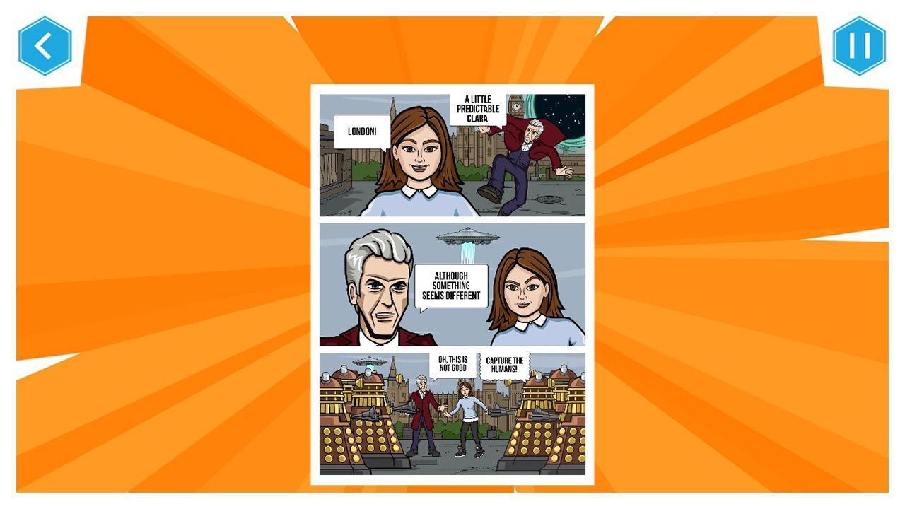 Doctor Who: Comic Creator 1.7 Screenshot 3