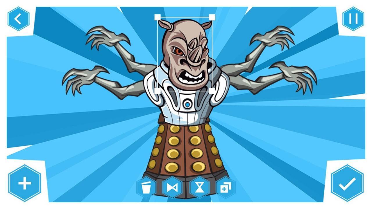 Doctor Who: Comic Creator 1.7 Screenshot 5