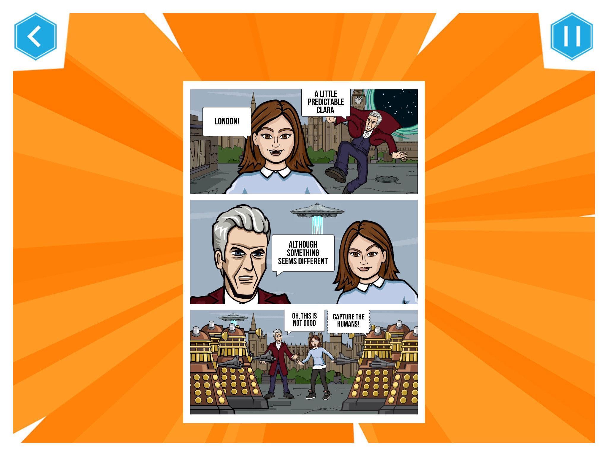 Doctor Who: Comic Creator 1.7 Screenshot 9