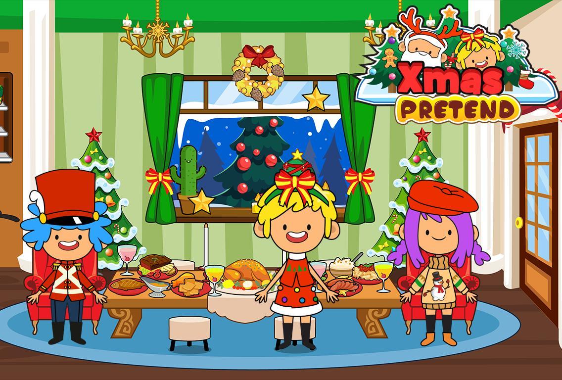 My Pretend Christmas - Santa Kids Holiday Party 2.0 Screenshot 1