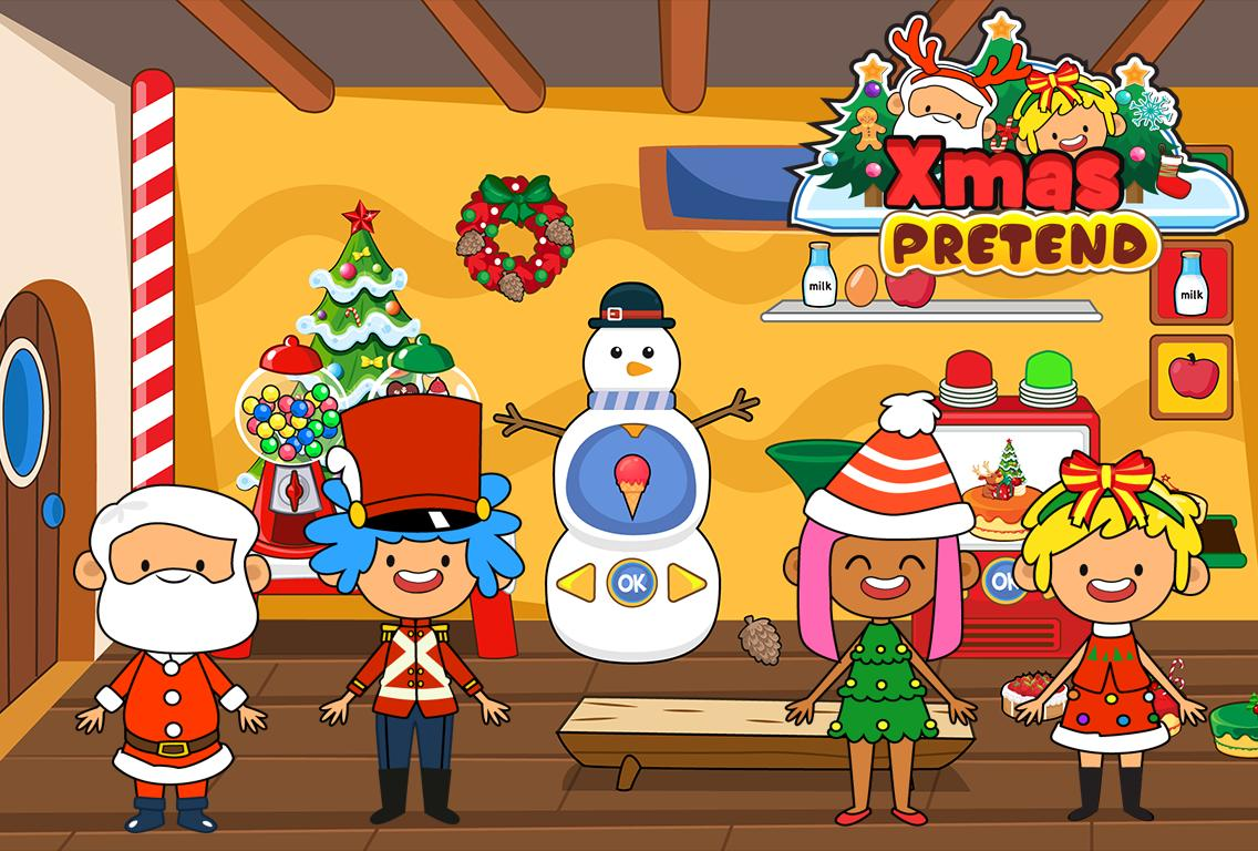 My Pretend Christmas - Santa Kids Holiday Party 2.0 Screenshot 10