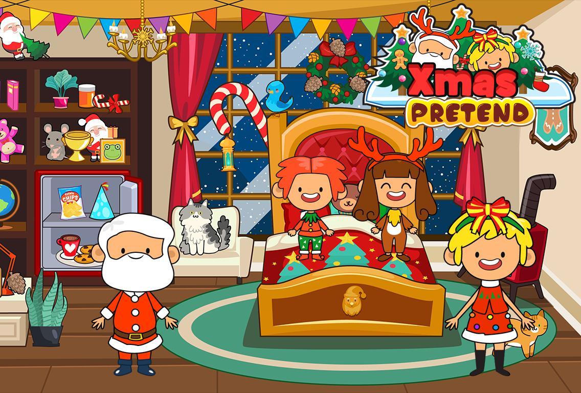 My Pretend Christmas - Santa Kids Holiday Party 2.0 Screenshot 2