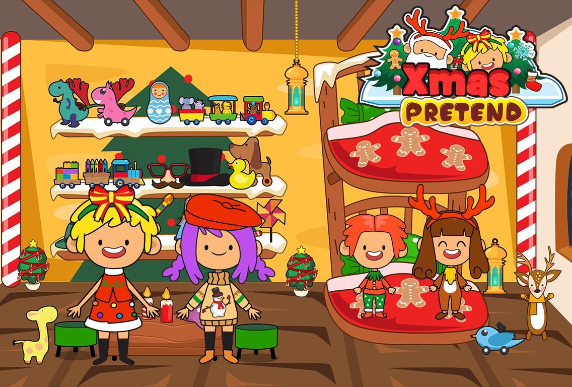 My Pretend Christmas - Santa Kids Holiday Party 2.0 Screenshot 4