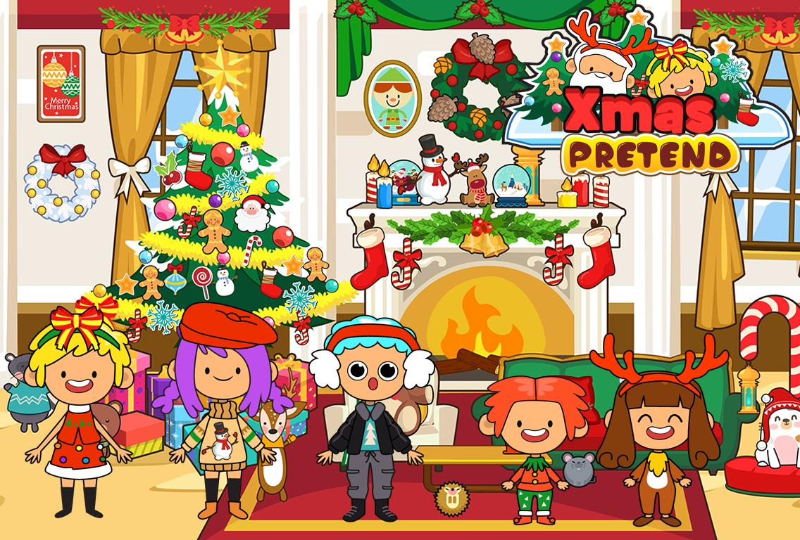 My Pretend Christmas - Santa Kids Holiday Party 2.0 Screenshot 8