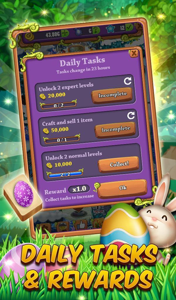 Mahjong Spring Solitaire: Easter Journey 1.0.16 Screenshot 24