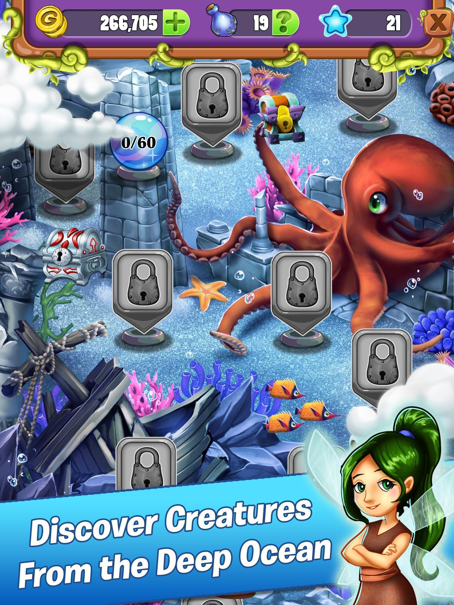 Mahjong - Mermaid Quest - Sirens of the Deep 1.0.42 Screenshot 4