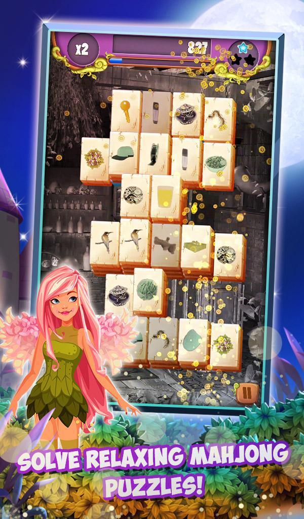Mahjong Solitaire: Moonlight Magic 1.0.24 Screenshot 2