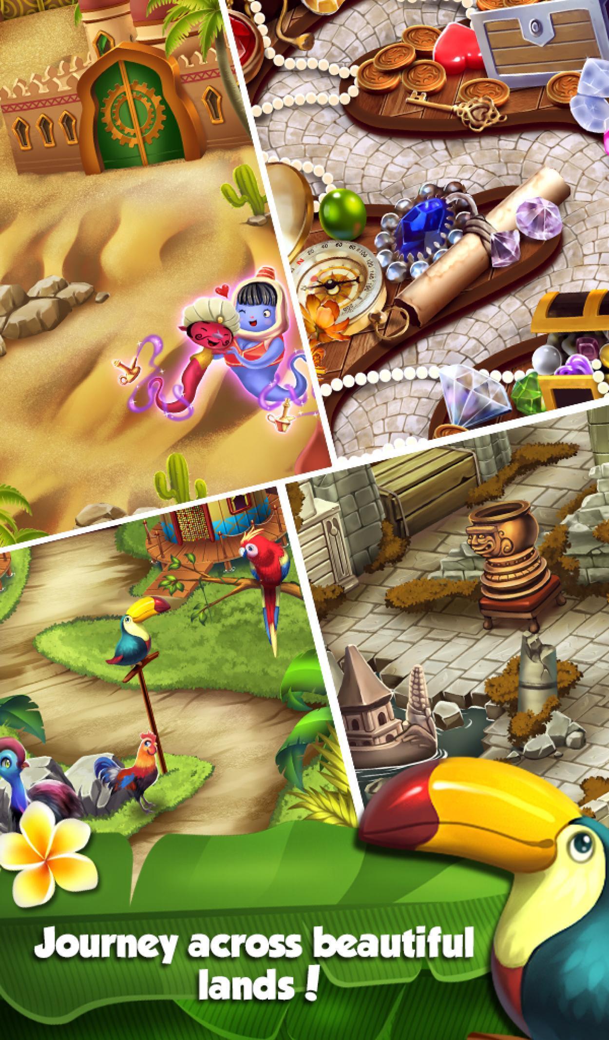 Mahjong World Adventure - The Treasure Trails 1.0.30 Screenshot 14