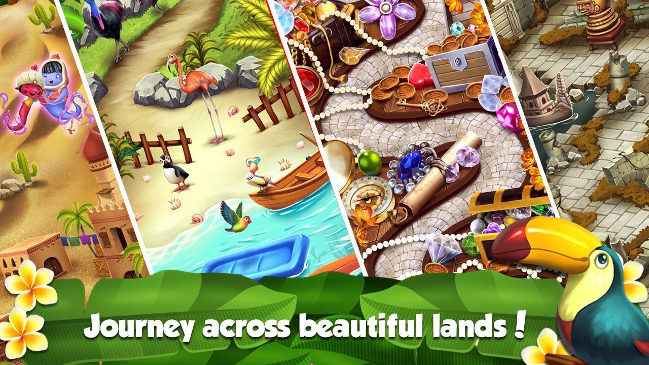 Mahjong World Adventure - The Treasure Trails 1.0.30 Screenshot 2