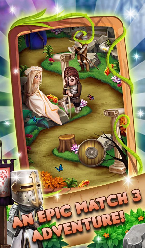 Match 3 Fantasy Quest: Hero Story 1.0.20 Screenshot 1