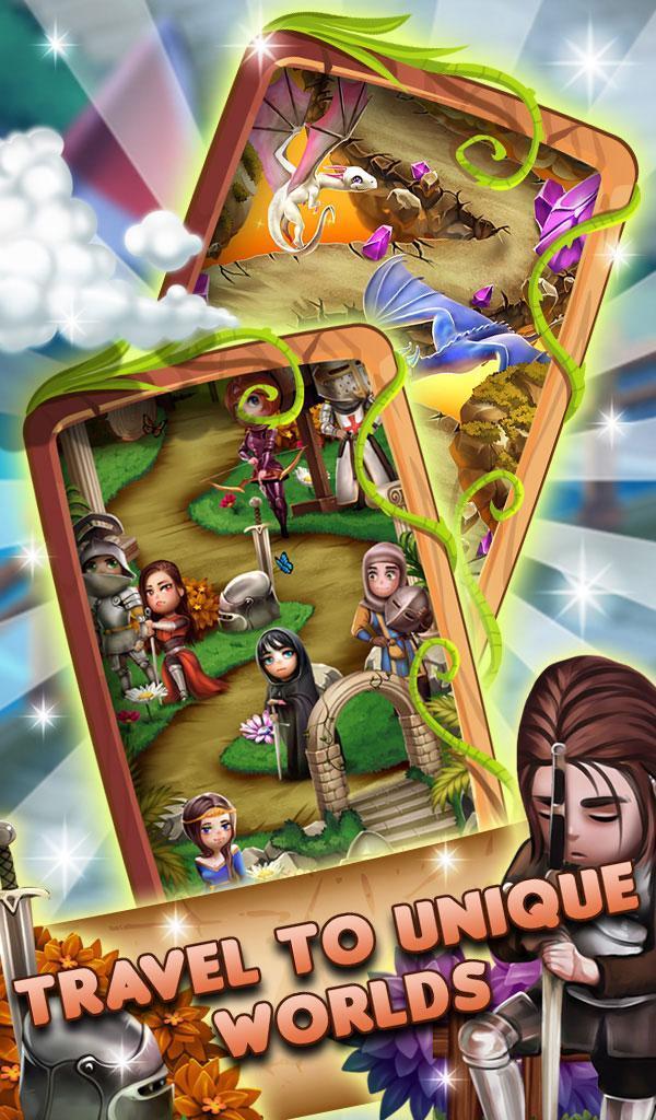 Match 3 Fantasy Quest: Hero Story 1.0.20 Screenshot 2