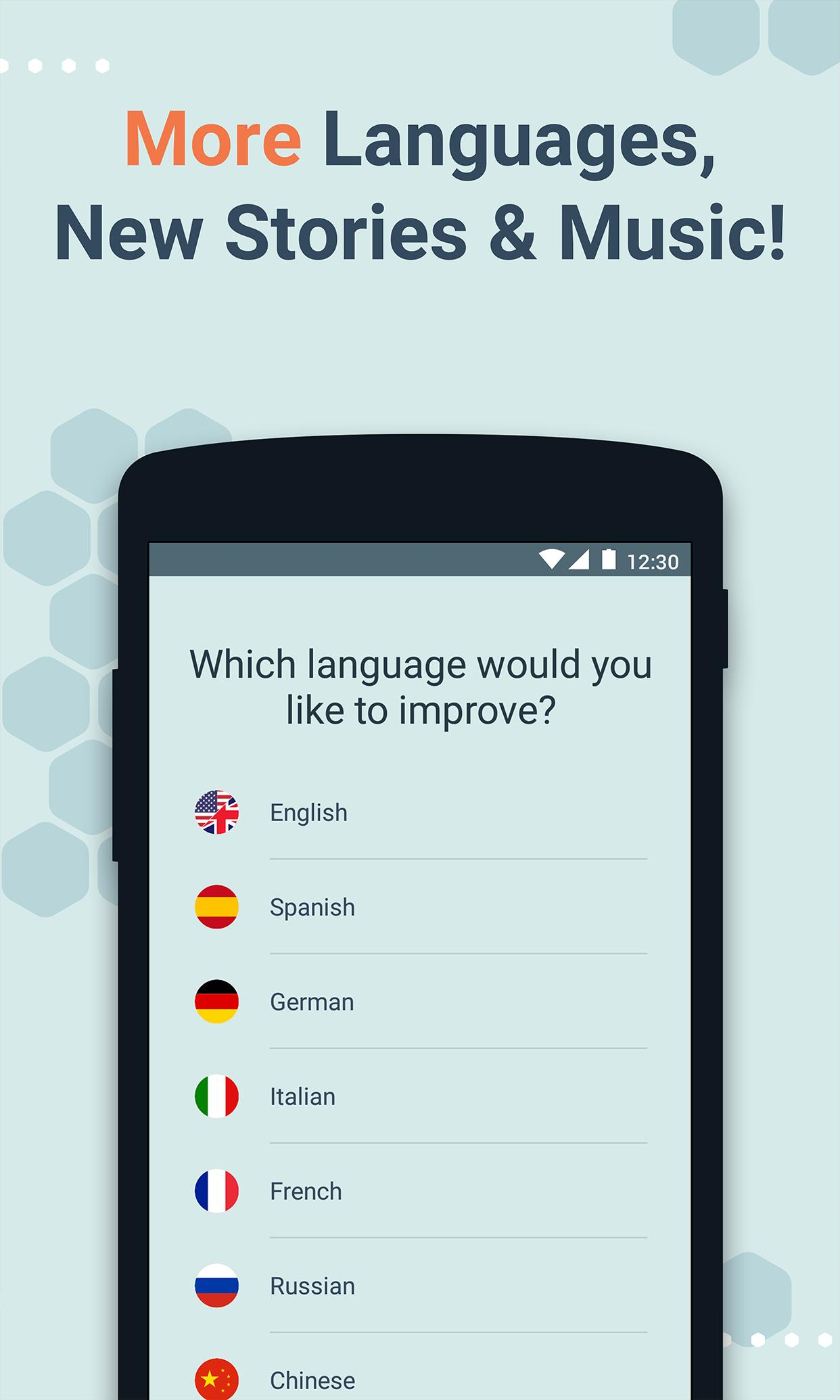 Beelinguapp Learn Languages Music & Audiobooks 2.380 Screenshot 2