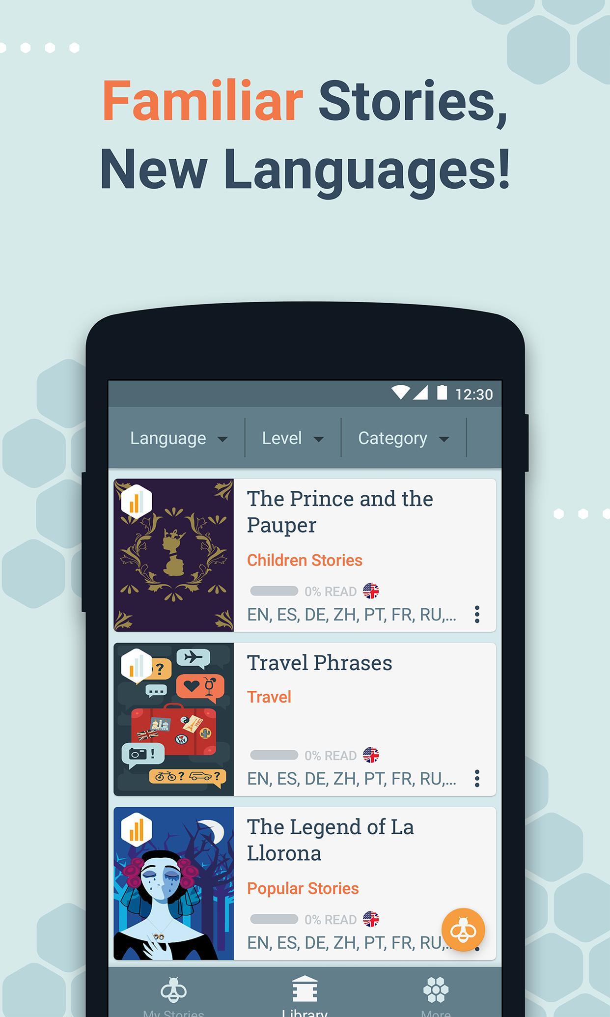 Beelinguapp Learn Languages Music & Audiobooks 2.380 Screenshot 7