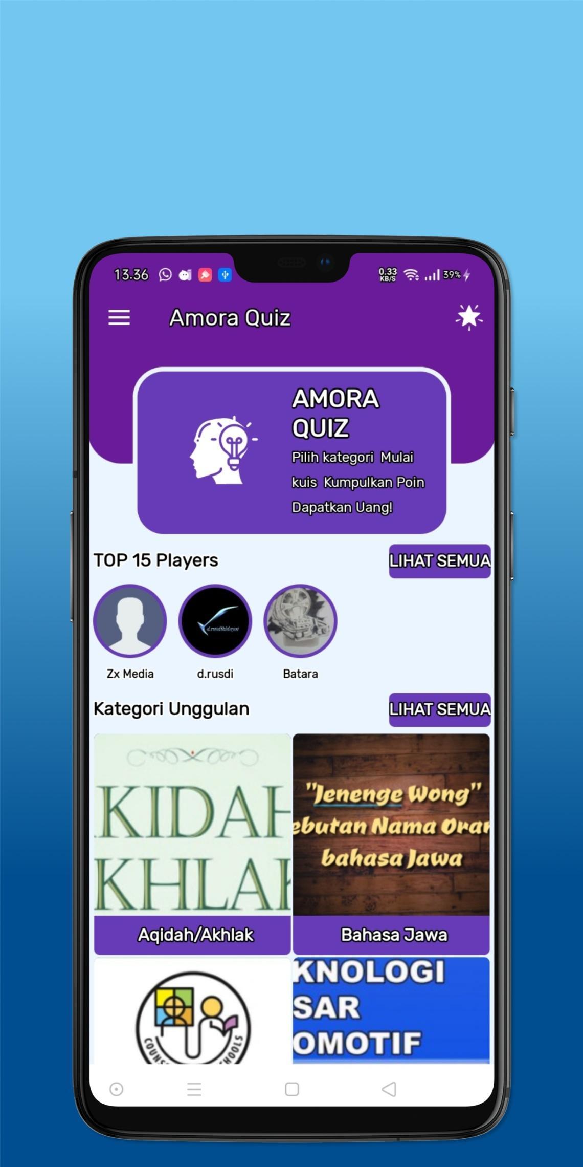 Amora Quiz Hasilkan Uang 3.0 Screenshot 2