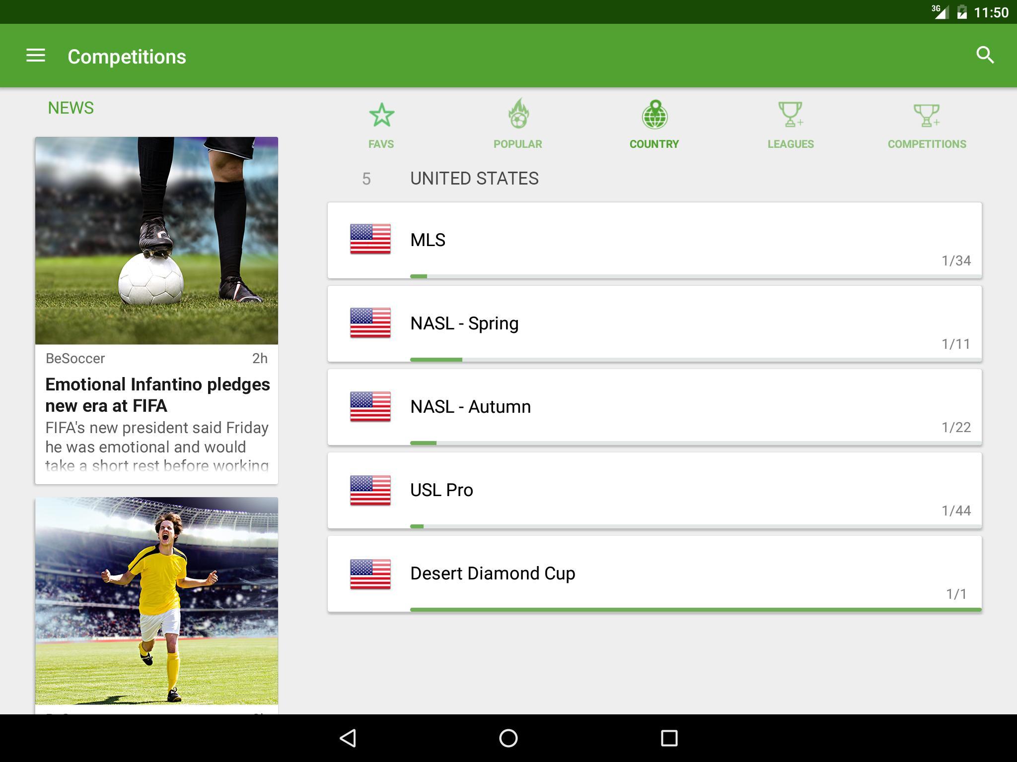 BeSoccer Soccer Live Score 5.2.2.1 Screenshot 10