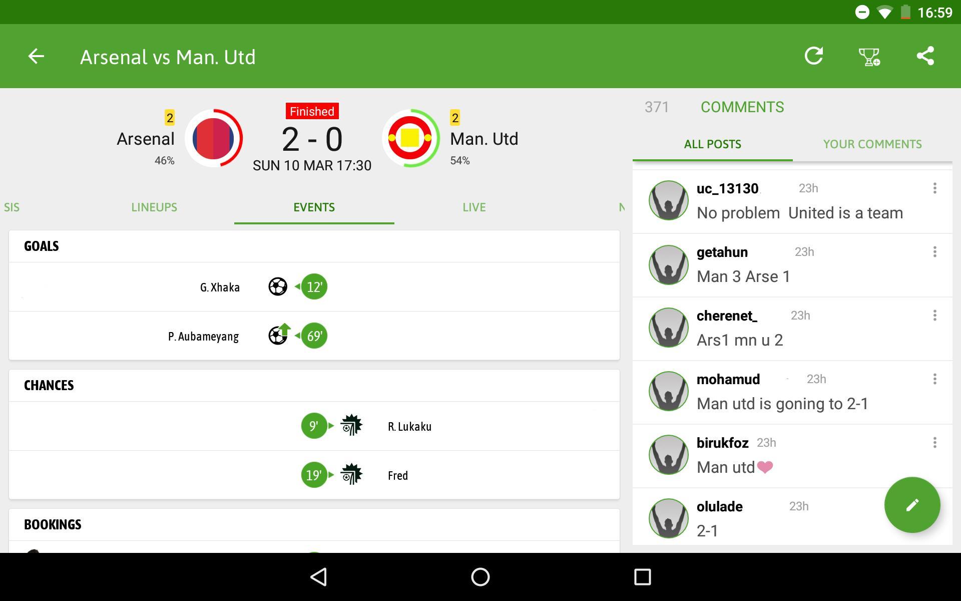 BeSoccer Soccer Live Score 5.1.1.4 Screenshot 13