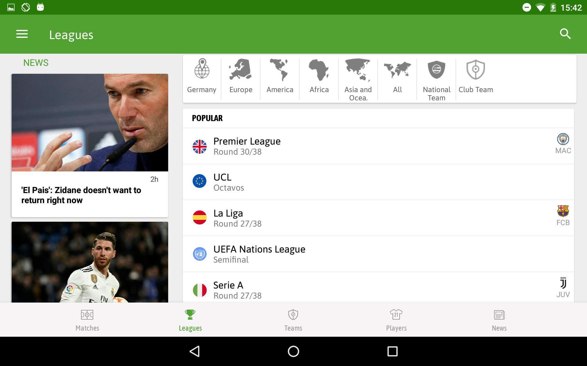 BeSoccer Soccer Live Score 5.1.1.4 Screenshot 14