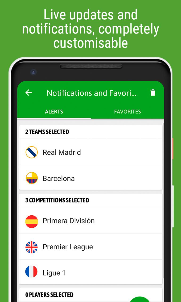 BeSoccer Soccer Live Score 5.1.1.4 Screenshot 4