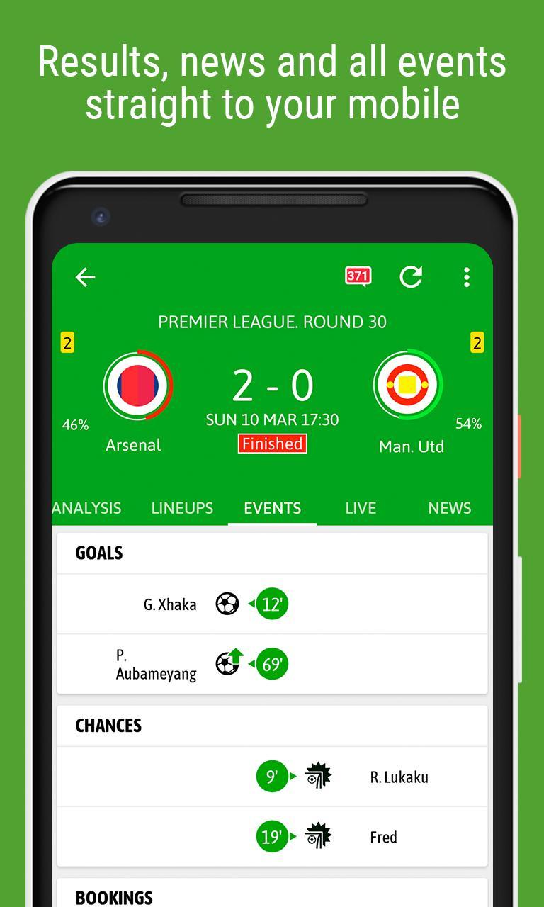 BeSoccer Soccer Live Score 5.1.1.4 Screenshot 5