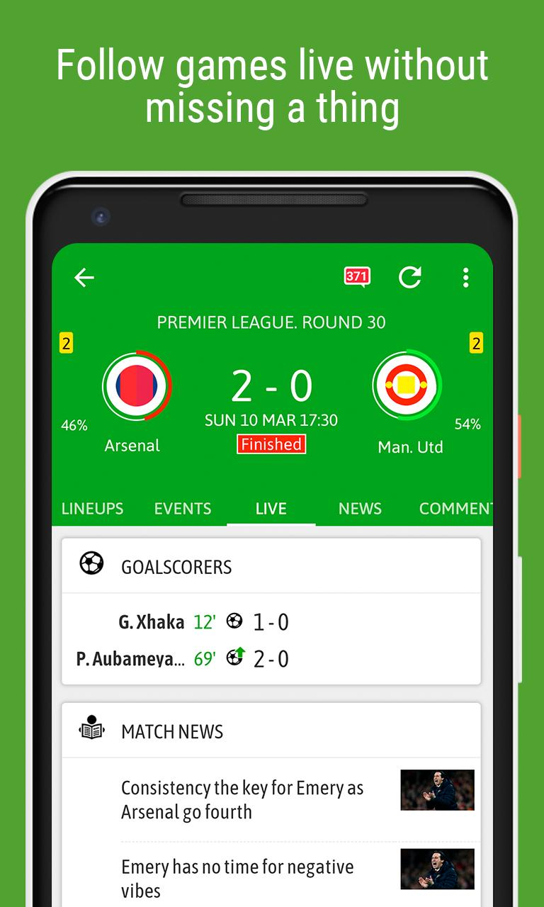 BeSoccer Soccer Live Score 5.1.1.4 Screenshot 6