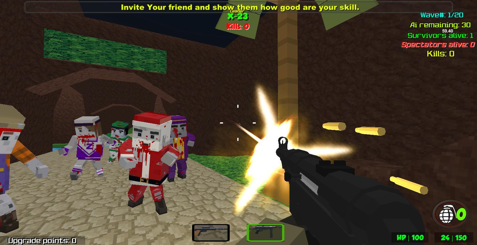 Blocky Combat Strike Zombie Survival 1.25 Screenshot 3