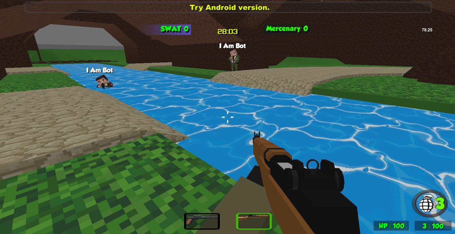 Blocky Combat Strike Zombie Survival 1.25 Screenshot 4