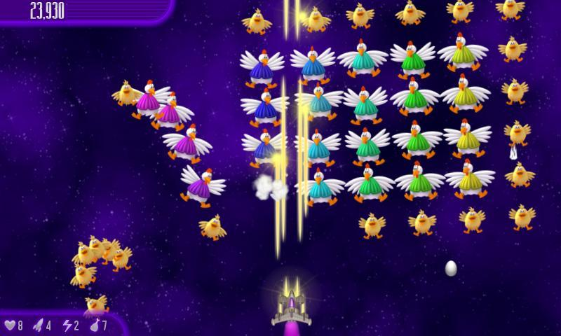 Chicken Invaders 4 1.31ggl Screenshot 3