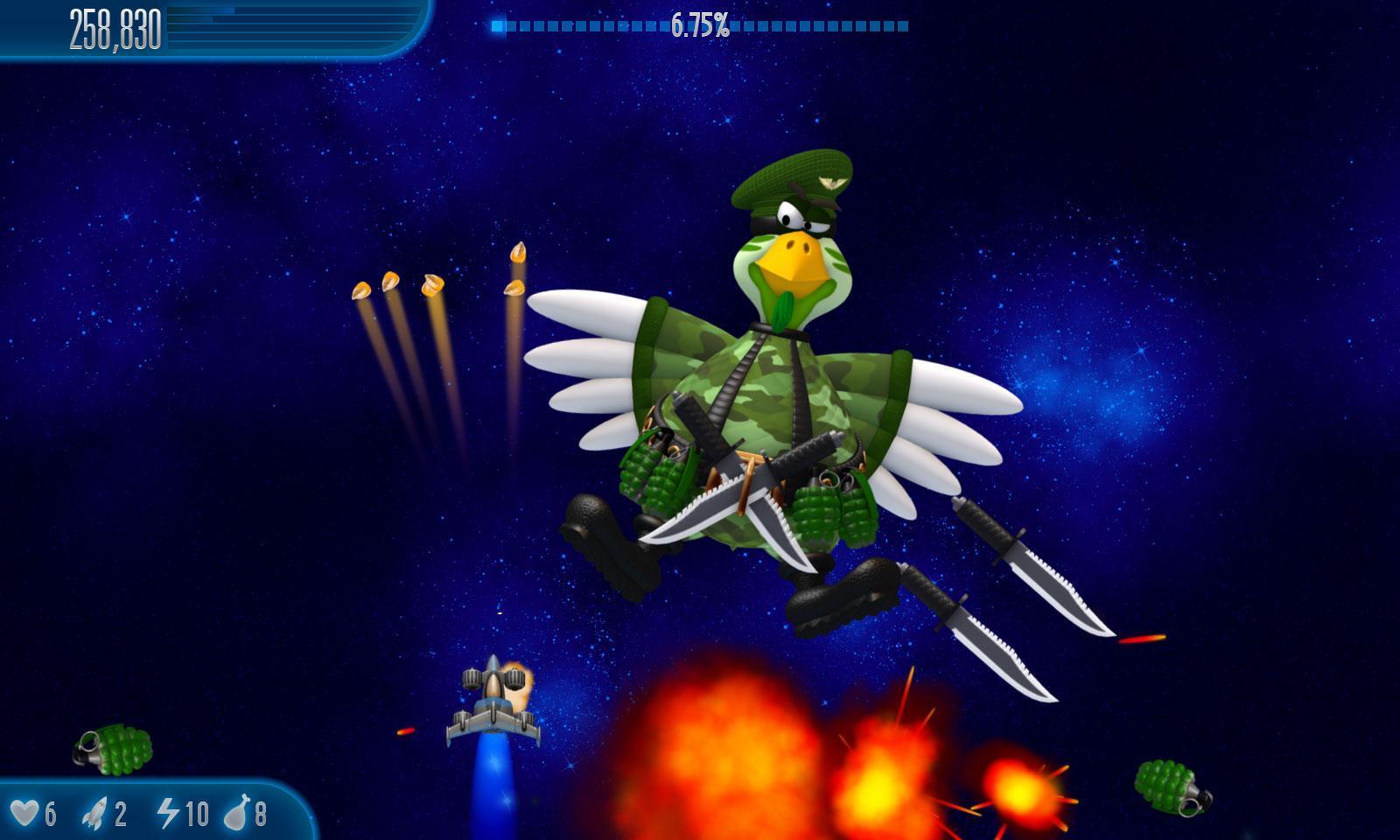 Chicken Invaders 5 1.30ggl Screenshot 1