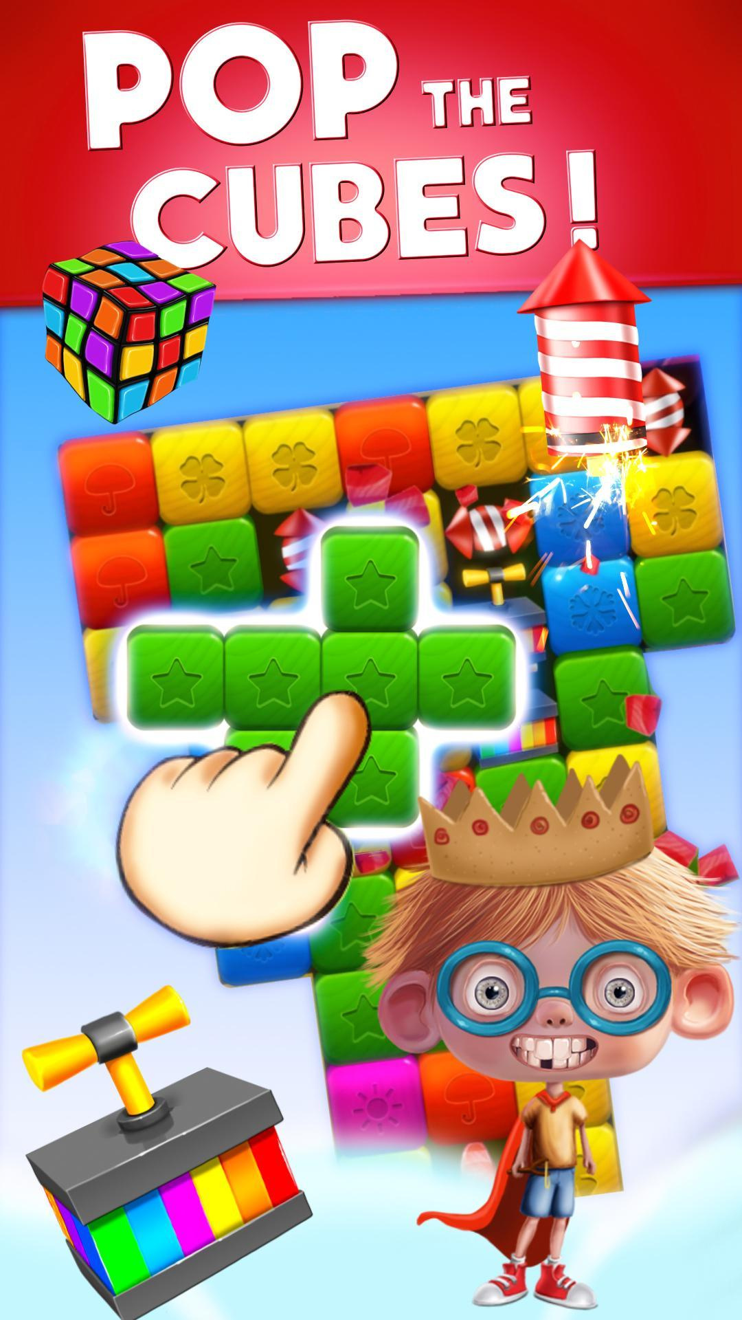 Toy Box Crazy Story - toys drop cubes 454 Screenshot 1