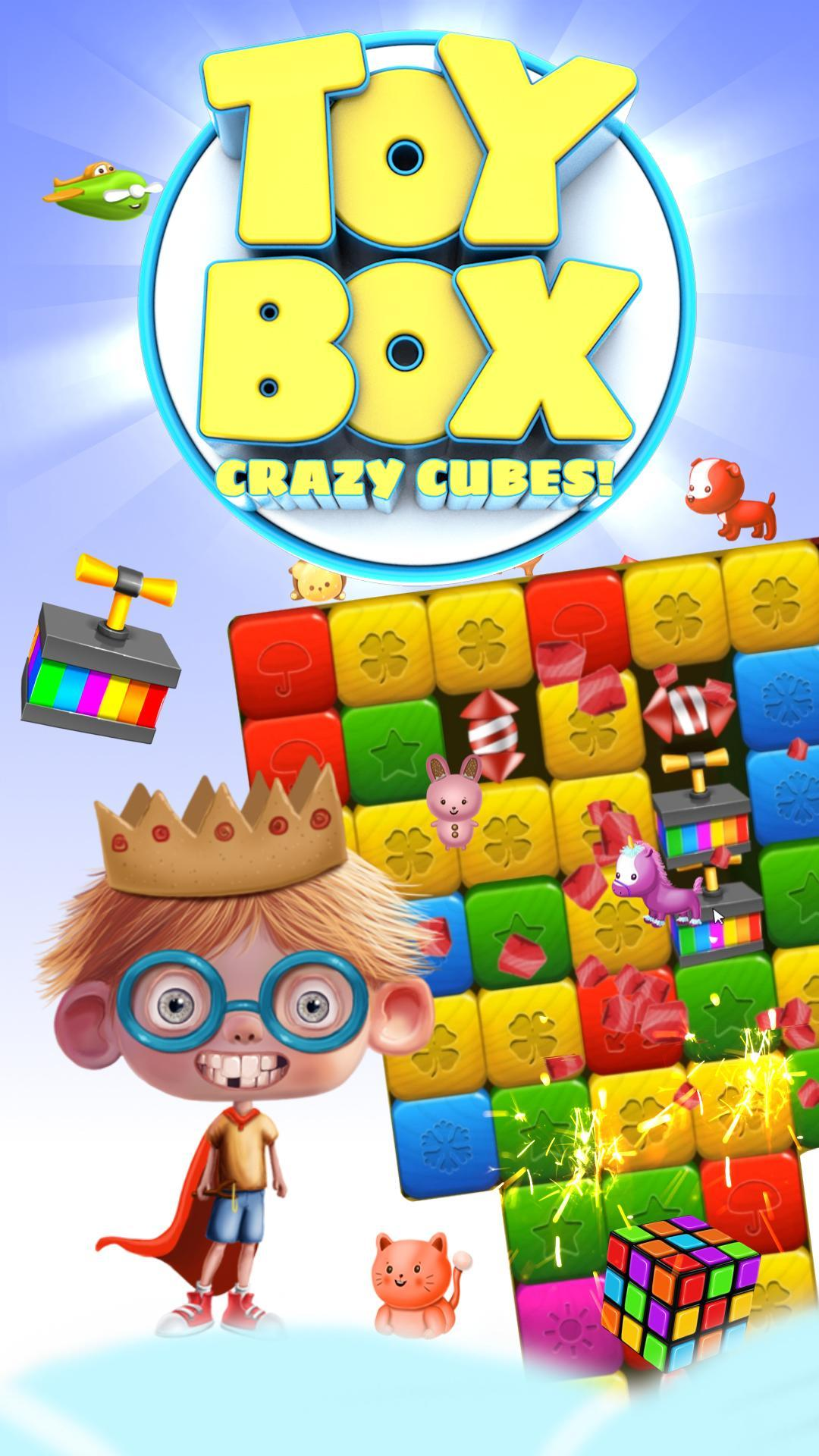 Toy Box Crazy Story - toys drop cubes 454 Screenshot 16