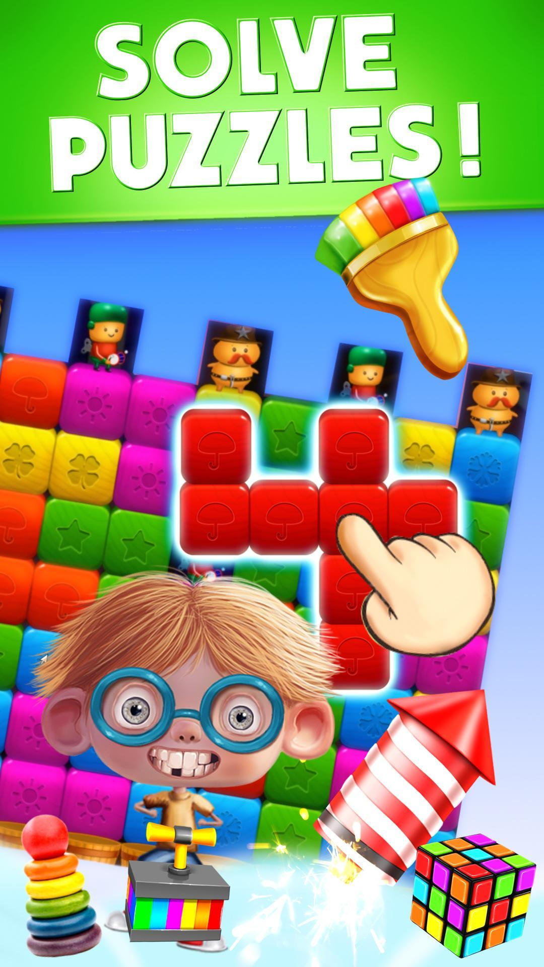 Toy Box Crazy Story - toys drop cubes 454 Screenshot 2