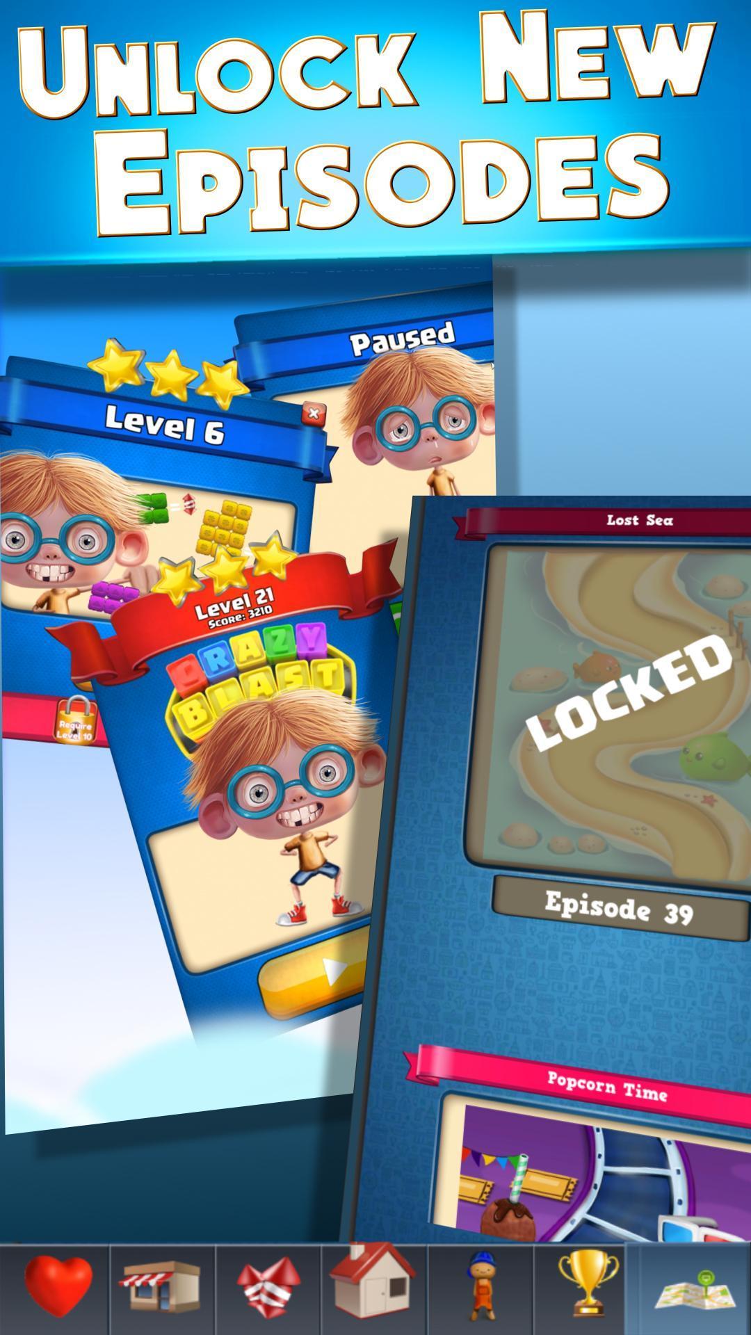 Toy Box Crazy Story - toys drop cubes 454 Screenshot 7