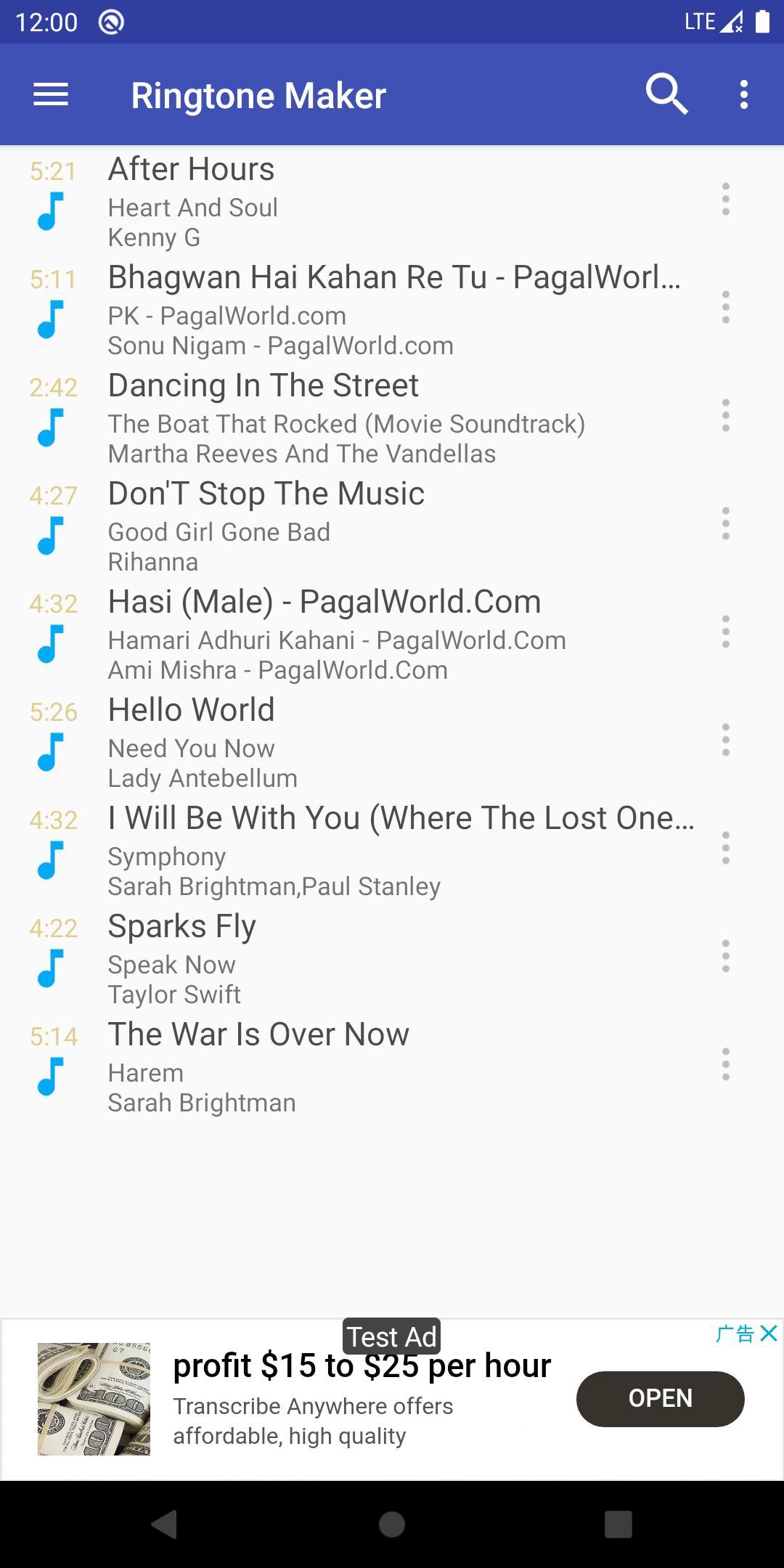 Ringtone Maker create free ringtones from music 2.5.9 Screenshot 1