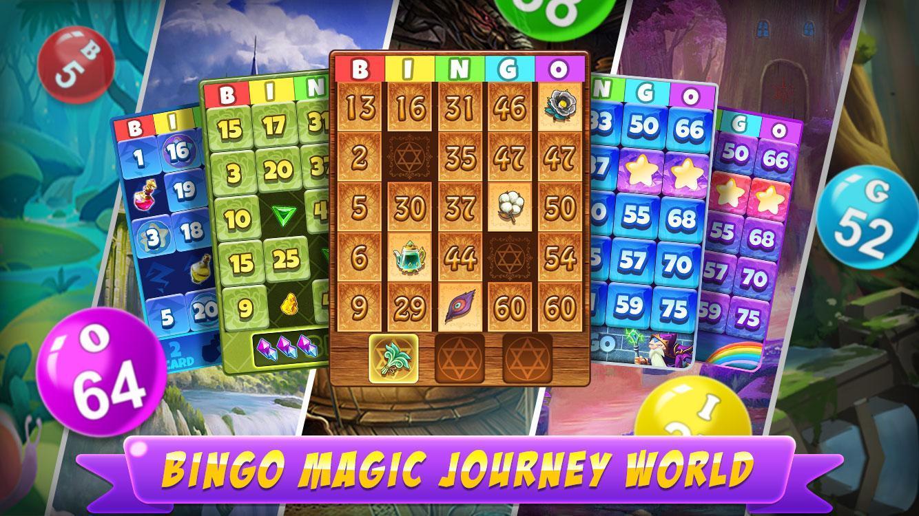 Bingo Magic New Free Bingo Games To Play Offline 1.0.1 Screenshot 1