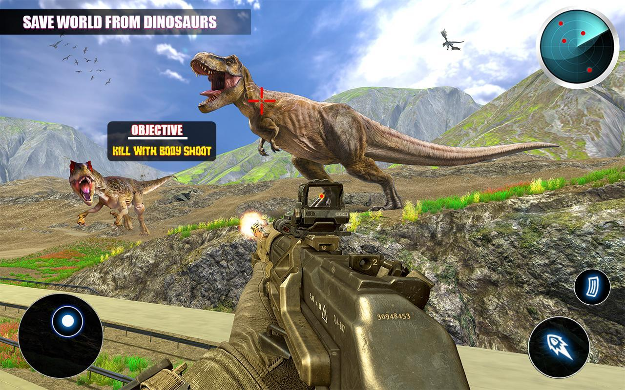Dino Hunting 3d - Animal Sniper Shooting 2020 1.0.18 Screenshot 10