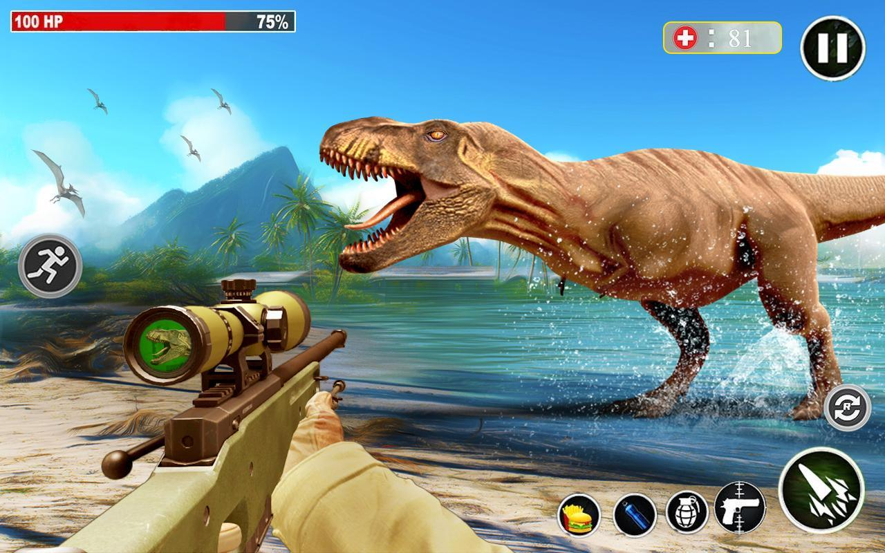 Dino Hunting 3d - Animal Sniper Shooting 2020 1.0.18 Screenshot 14