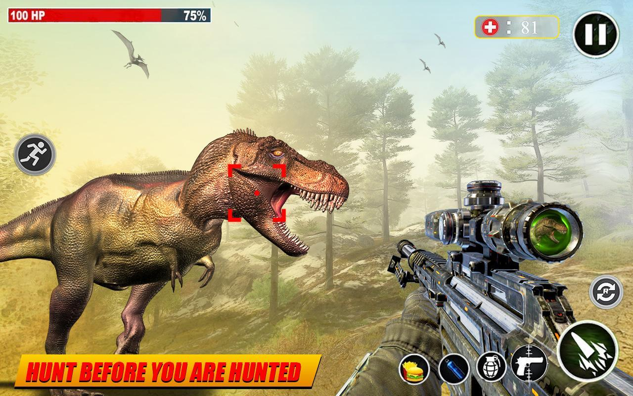 Dino Hunting 3d - Animal Sniper Shooting 2020 1.0.18 Screenshot 15
