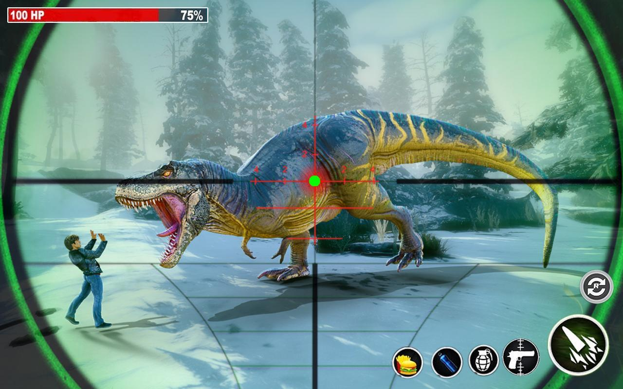 Dino Hunting 3d - Animal Sniper Shooting 2020 1.0.18 Screenshot 4