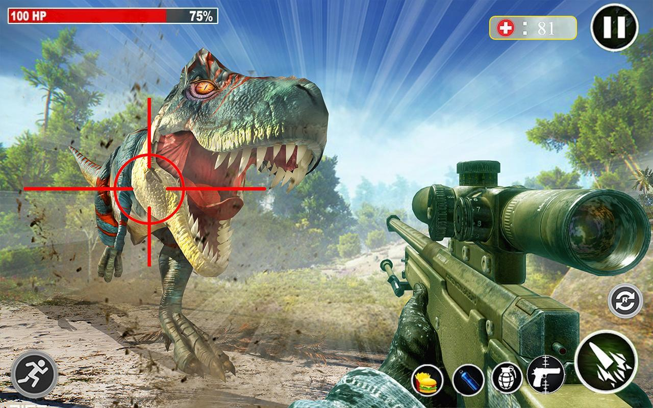 Dino Hunting 3d - Animal Sniper Shooting 2020 1.0.18 Screenshot 5