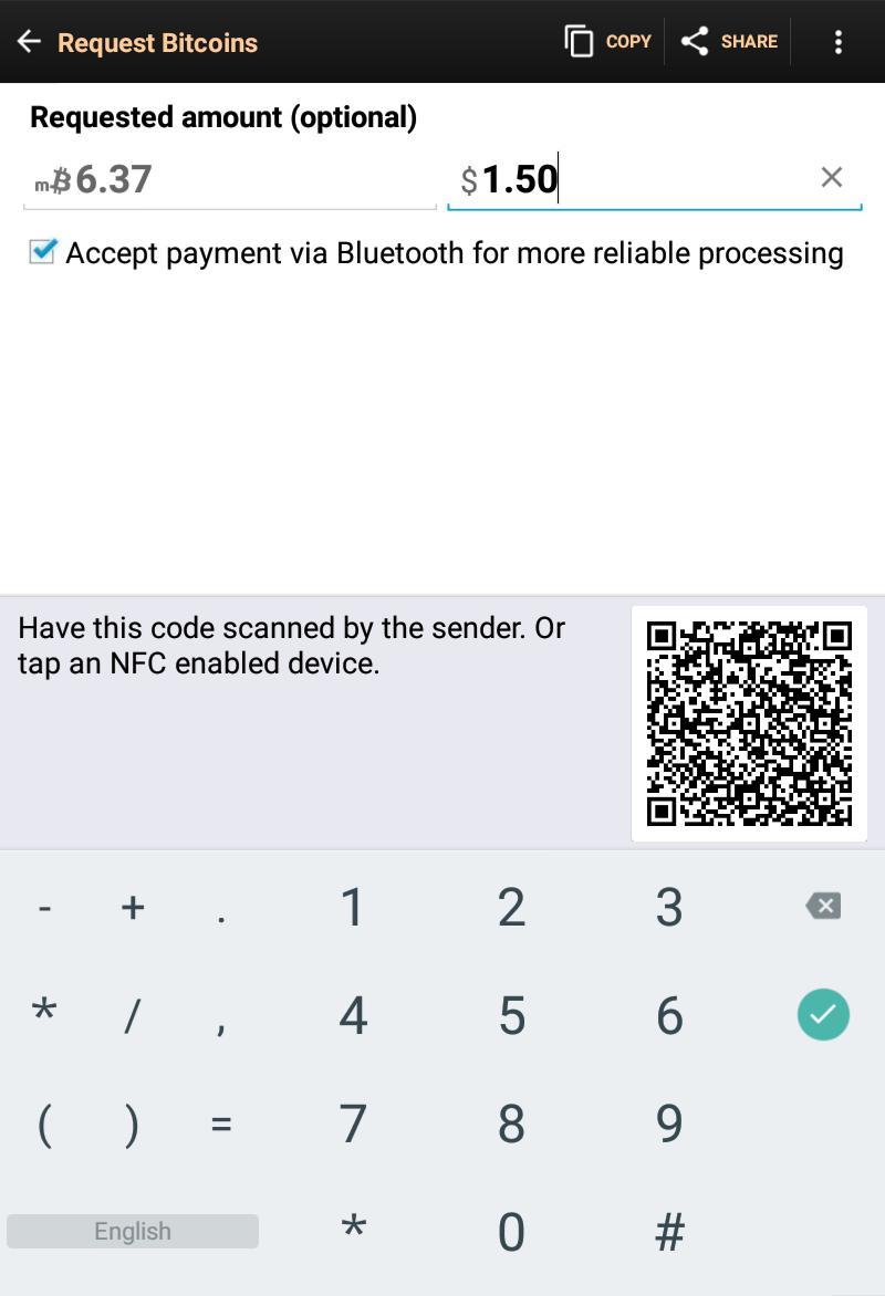 Bitcoin Wallet 8.11 Screenshot 11