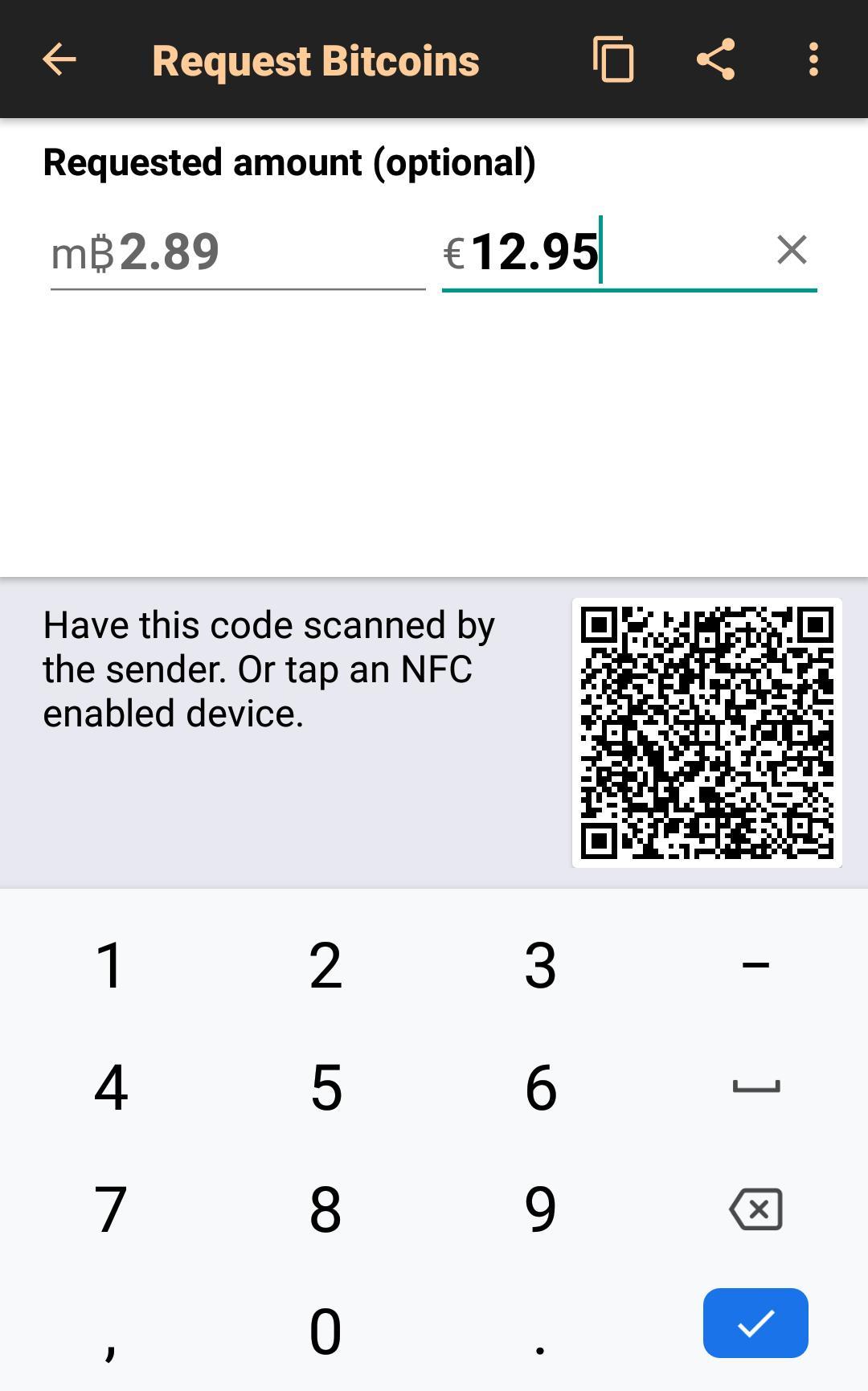 Bitcoin Wallet 8.11 Screenshot 3
