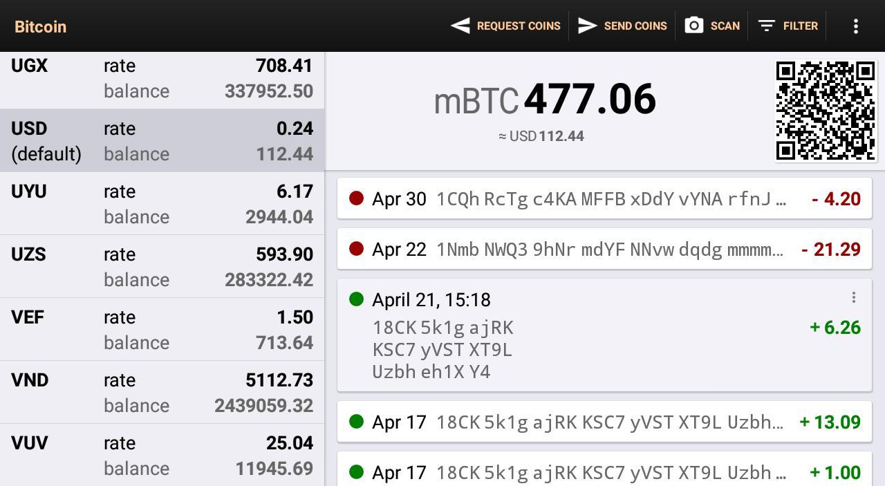 Bitcoin Wallet 8.11 Screenshot 9