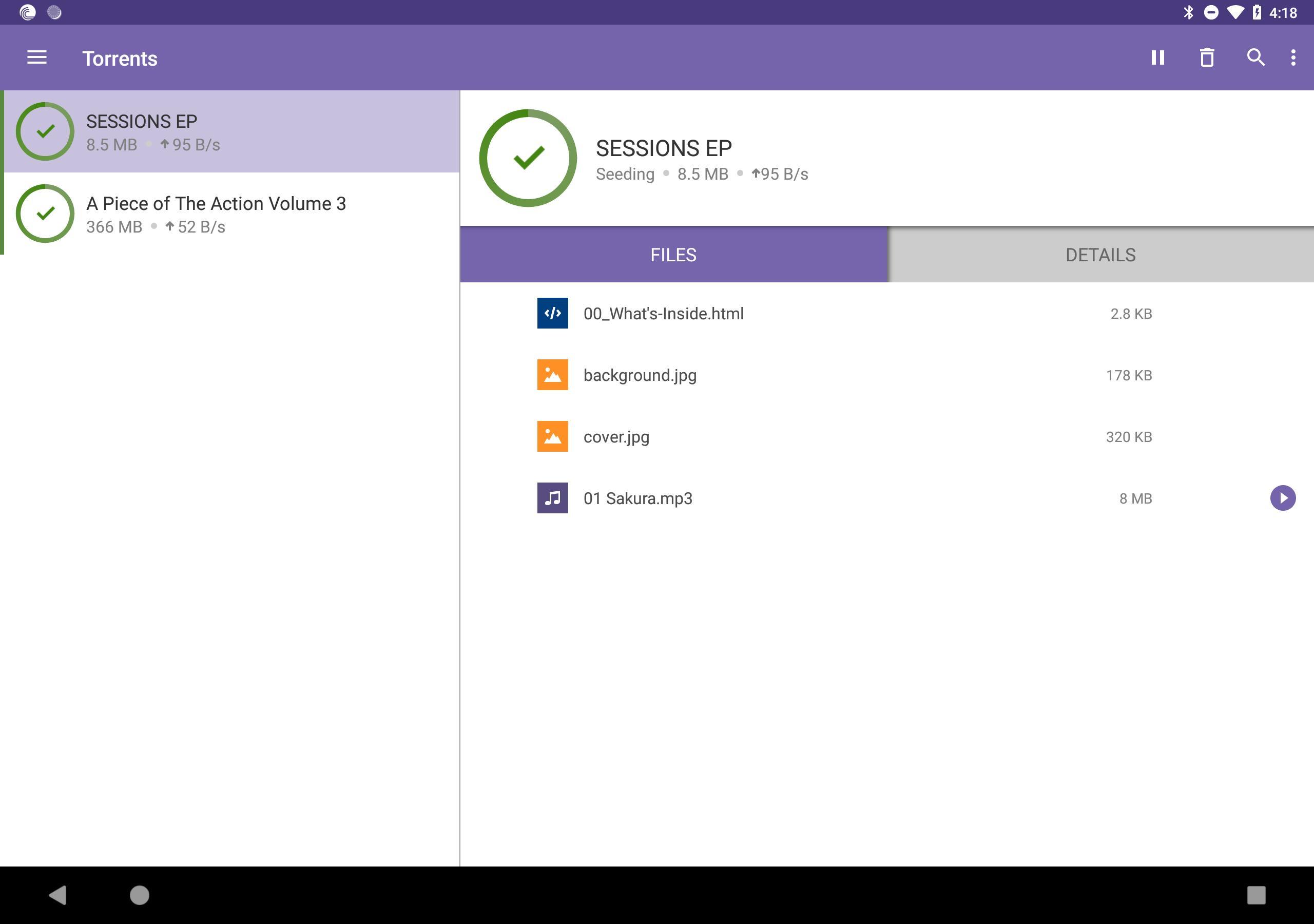 BitTorrent®- Torrent Downloads 6.1.7 Screenshot 5